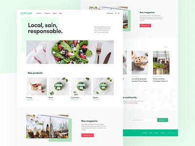 Agricool — Eco-built website eco-built website design ecology low tech slow tech ethical design