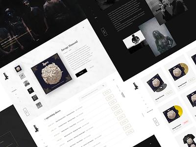 Igorrr official website /2 visual kuroneko website inde music 666 satan ux ui