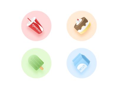 delicious food icon