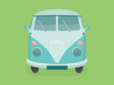 We're recruiting flat camper yoomee jobs job hiring recruiting illustration camper van