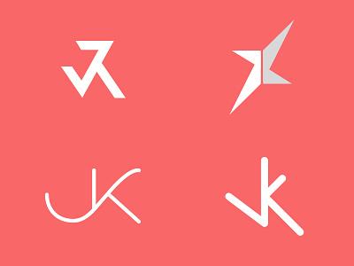 Personal mark monogram personal mark logo typography initials