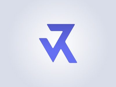 New personal logo logo brand monogram mark personal portfolio letters typography