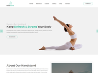 Handstand – Gym & Fitness HTML Template