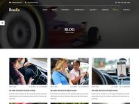 DriveOn –  HTML Template