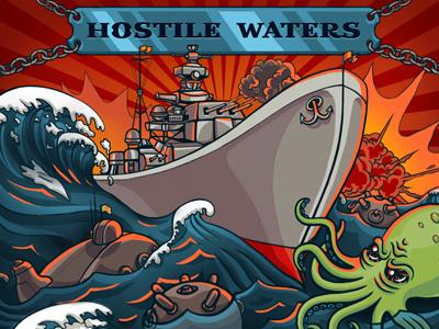Hostile waters game cover