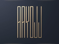 Aryojj Typography