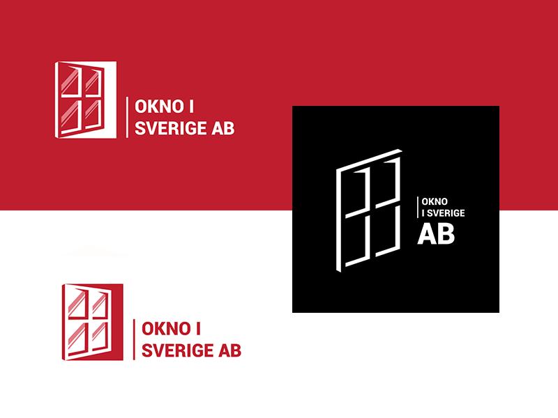 Window company branding logo logo design branding logodesign okno svierge ab aryojj.com branding design logo branding window