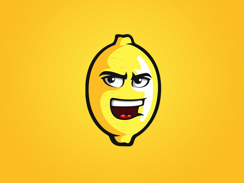 Lemon Mascot cartoon mascot logo mascot lemon