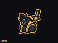 Fortnite Wolf Mascot