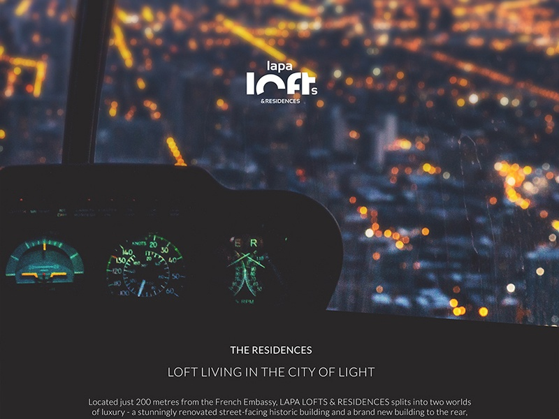 More about Lapa Lofts & Residences Job logo visual communication design