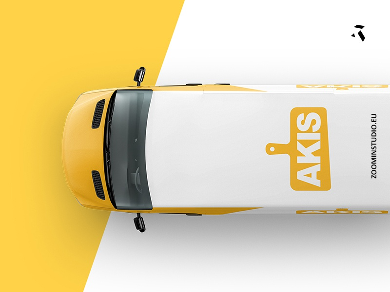 AKIS.PT TOP VAN new rebrand design van deco