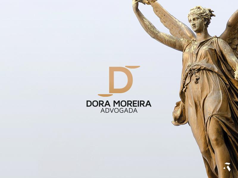 Dora Moreira Lawyer 2d design logo lawyer