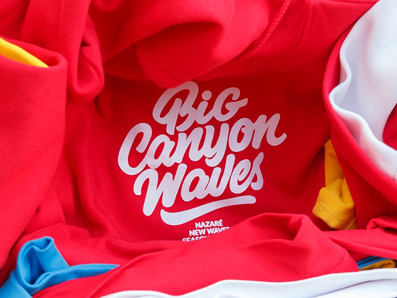 Big Canyon Waves portugal chill surfing brand waves surf waves big waves nazare swagger brand and identity swag surf