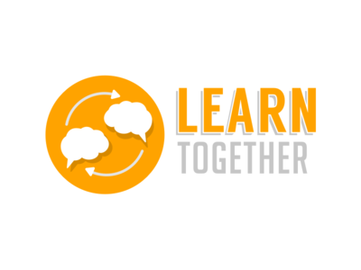 Learn Together logo learn sketch icons