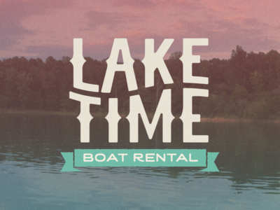 Lake Time Logo design logo
