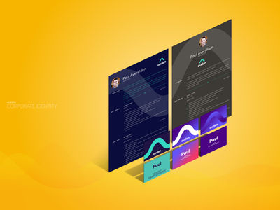 Corporate Identity ux ui mobile banking bank app loans fintech financial services marketing business card design branding corporate identity brand design