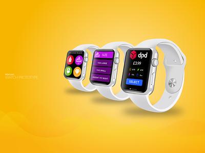 Apple watch prototype ux ui saas mobile wearable watch app watch prototype watch design product design apple watch