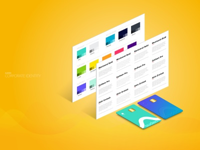 Corporate Identity ux ui mobile banking bank app loans fintech financial services corporate identity marketing branding brand design business card design