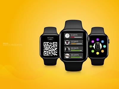 Apple watch prototype ux ui saas mobile wearable watch app watch prototype apple watch watch design product design