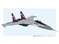 Friendly Skies - Sukhoi Su-35S Flanker-E