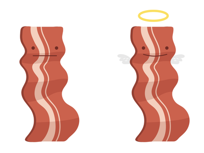 Holly Bacon gamedesign creative graphicdesign bacon illustrator character design character vector art illustration