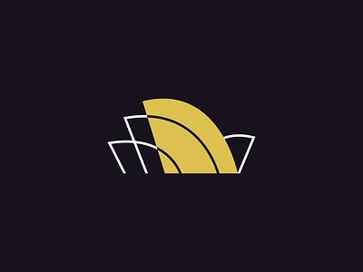 Sydney Opera House australia branding brand minimalism sydney opera house operahouse sydney logo icon design
