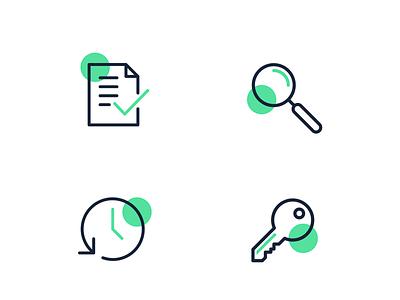 Special Icon Set green ui icondesign icon set icones iconos design iconography icon