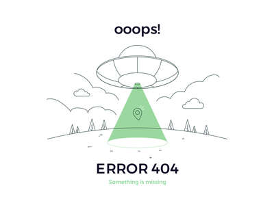 404 Error wrong location space pin ufo 404page webdesign page design 404 error 404 error page page404 404error 404
