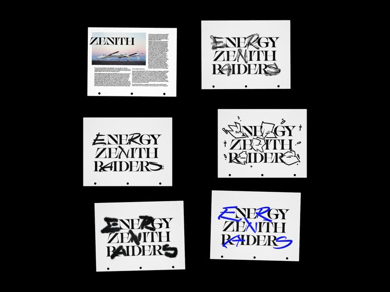 Type Studies calligraphy brush script display vector font illustrator typography type