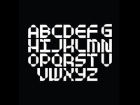 Modular Monospaced Alphabet