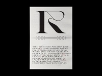 """R"" – 36 Days of Type 2019"