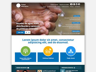 Upcoming - Client's website redesign flatdesign design webdesign web