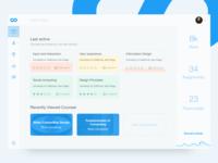 Coursera Dashboard Redesign