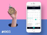 Daily UI #003 - Calendário