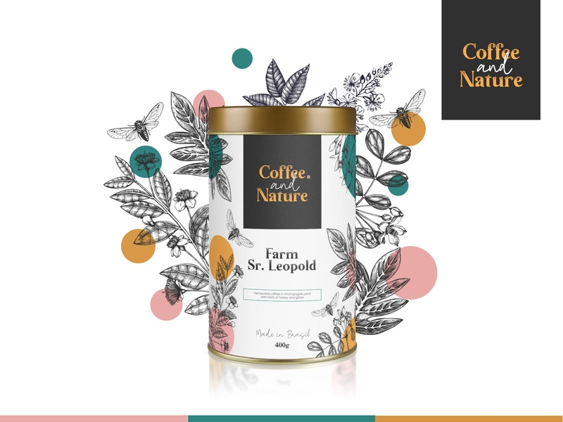 Design Packaging for a Fictional Brand of Coffee