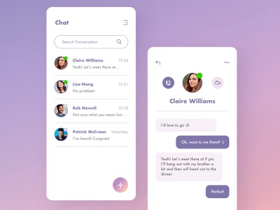 UI Challenge - Day 13 | Messaging interaction design user experience user interface uidesign