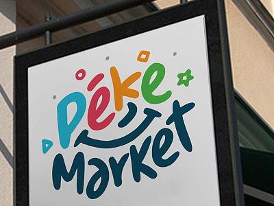 PekeMarket smile freehand geometry fun colorful kids