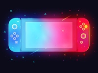 Nintendo Switch ps illustration switch nintendo