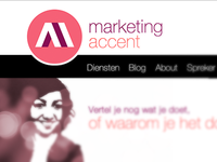 marketing accent logo en webshot