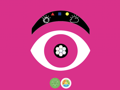 IBM Eyes! ux design thinking 👁🐝ⓜ️ design ibm