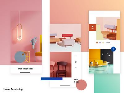 Home Furnishing colorful furnishing home