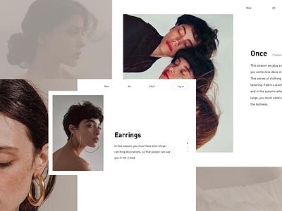 Once ui earring clothing web