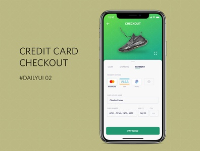 #DailyUI_02_Credit Card Checkout