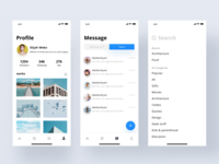 Picture social interaction | Daily UI