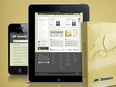 RI WebSite  duratex lepa website design photoshop