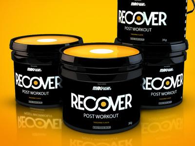 Desing packaging - RECOVER campinas brasil lepa leandro design recover fitness packaging
