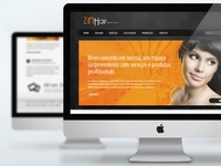 Desing of WebSite