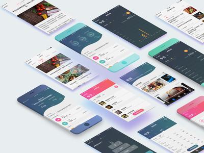 Health management app design
