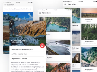A simple travel guide app for IOS mobile app ios app location toure travel travel guide app