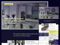 Worktops Landing Page